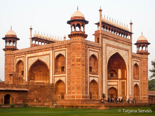 Great Gate - Taj Mahal - Agra - India
